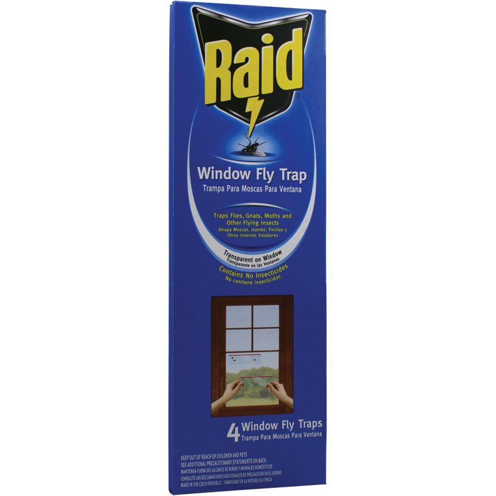 Raid 4 Window Fly Trap (3-Pack) by Raid