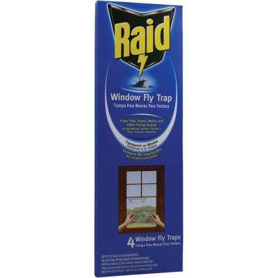 4 Window Fly Trap (3-Pack)