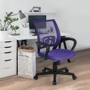 Purple Kite Mesh Office Chair
