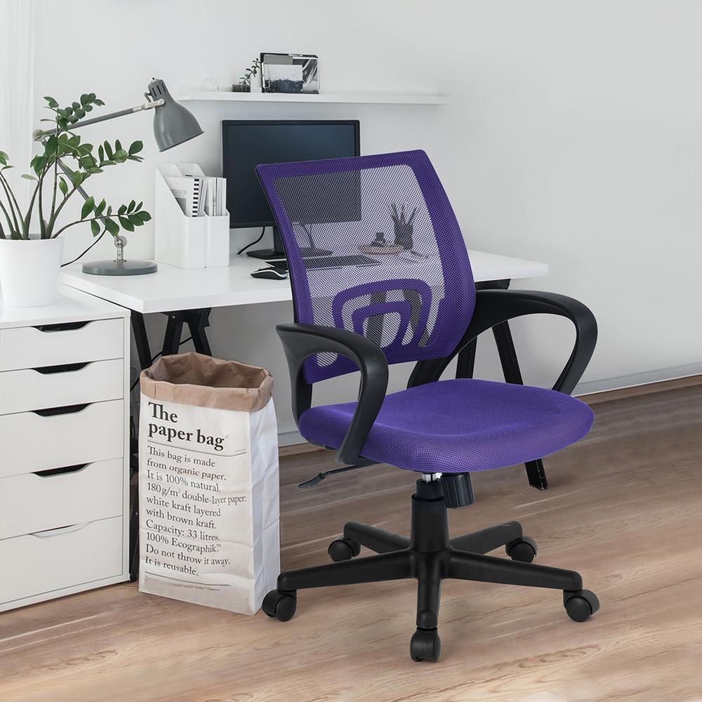 Purple Kite Mesh Office Chair