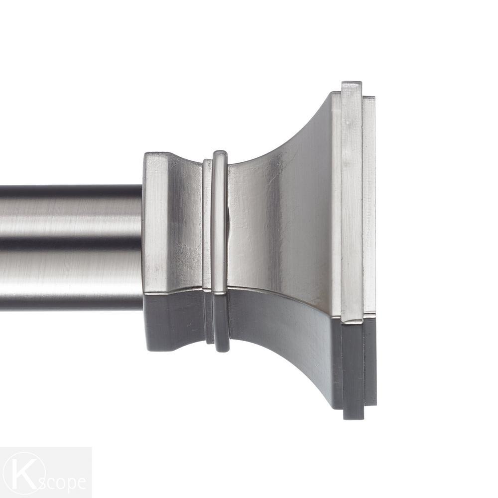 Art Decor 60 108 In Telescoping Curtain Rod Kit In