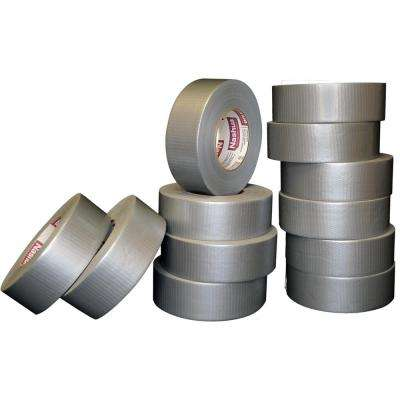 1.89 in. x 60 yd. 300 Heavy Duty Duct Tape Silver Pro Pack (12-Pack)
