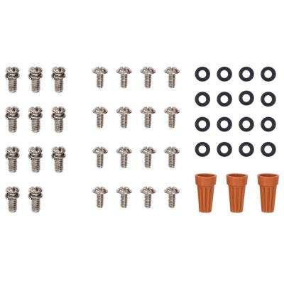 Replacement Mounting Hardware Eden Lake 54 in. Distressed Walnut Ceiling Fan (Loose Pack)