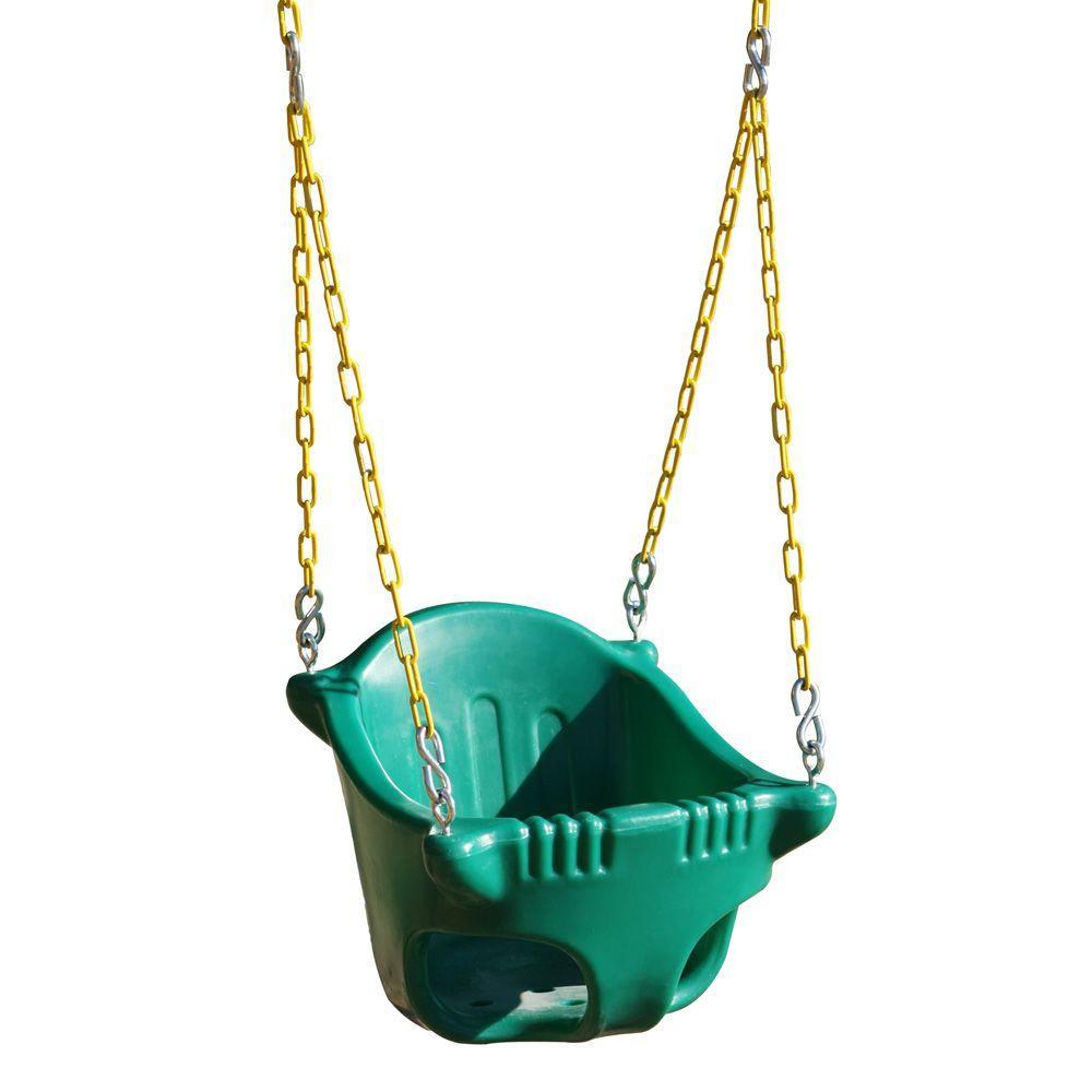 Heavy-Duty Toddler Bucket Swing