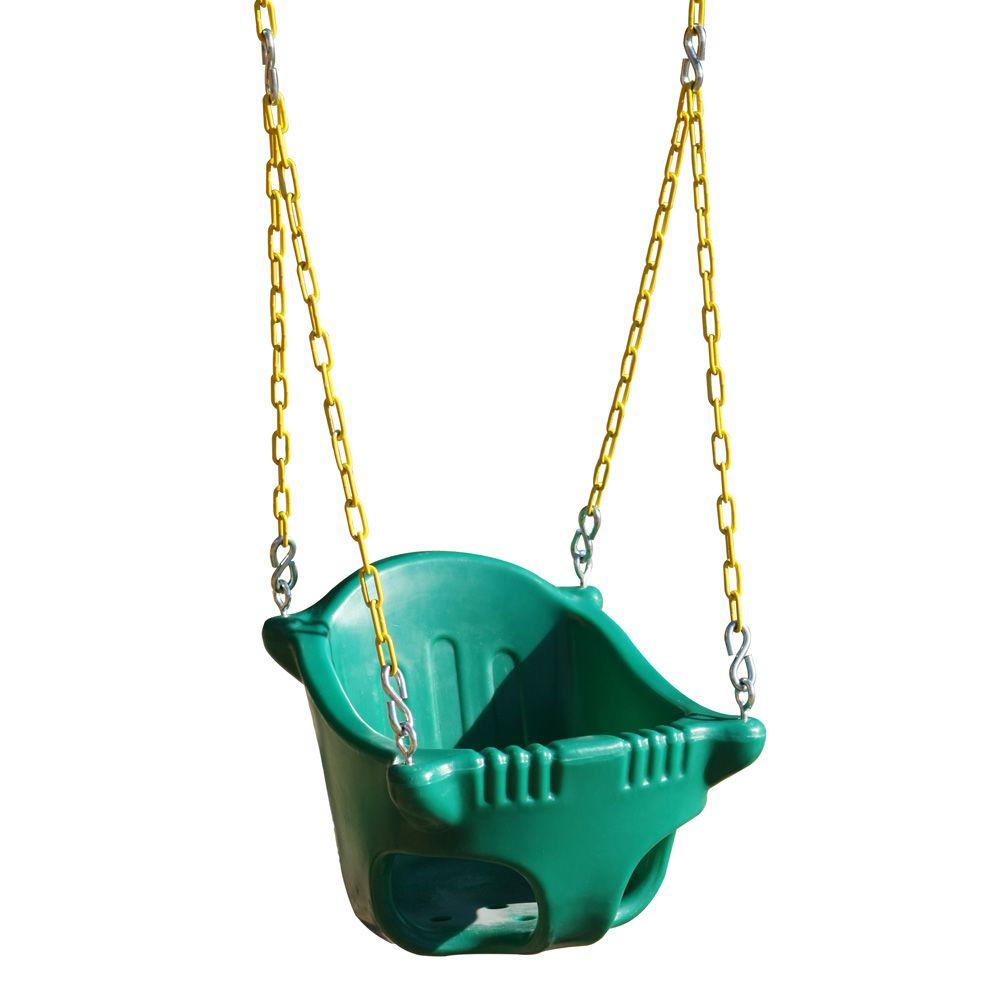 Gorilla Playsets Heavy Duty Toddler Bucket Swing 04 0021