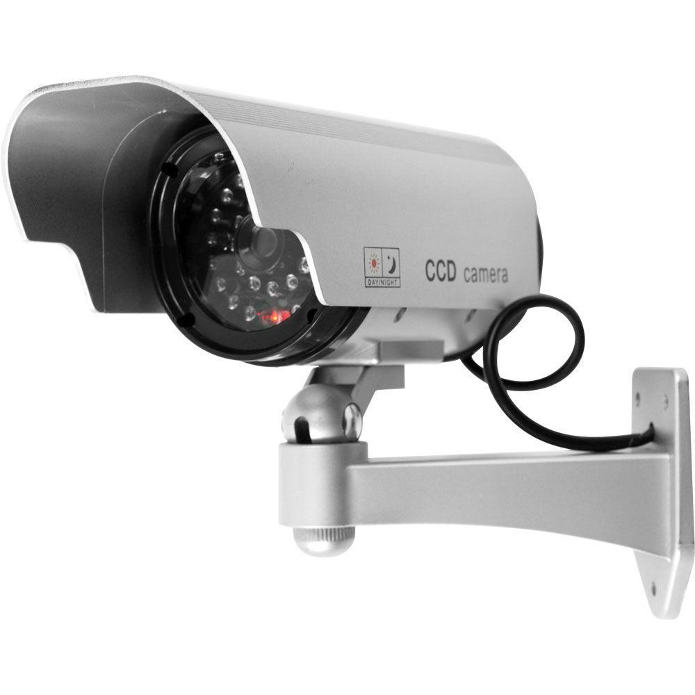 Trademark Global Indoor/Outdoor Security Camera Decoy with ...