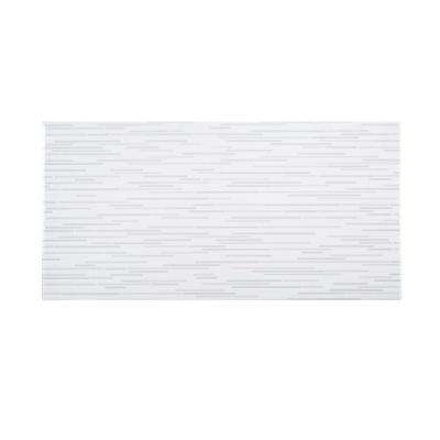 Dragonfly White 10 in. x 20 in. Glossy Ceramic Wall Tile (10.76 sq. ft. / case)