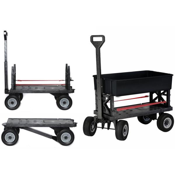 Multi-Purpose Garden Dump Cart