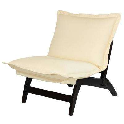 Espresso Casual Folding Lounger Chair