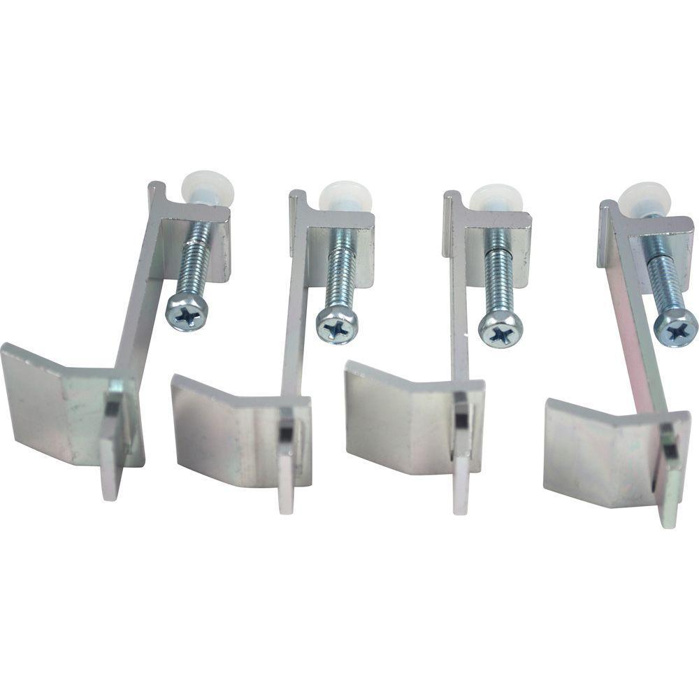 Partsmasterpro Sink Clips For Tile Counter 4 Pack 58449b
