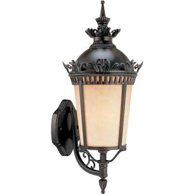 1-Light Foundry Bronze Outdoor Wall Mount