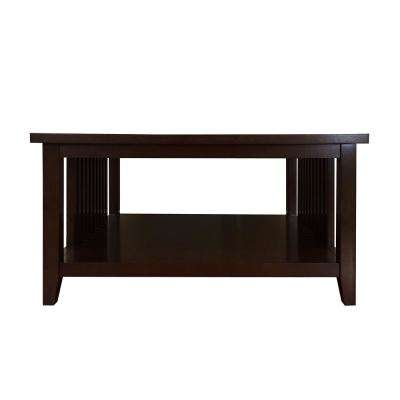 Brookdale Dark Walnut Coffee Table