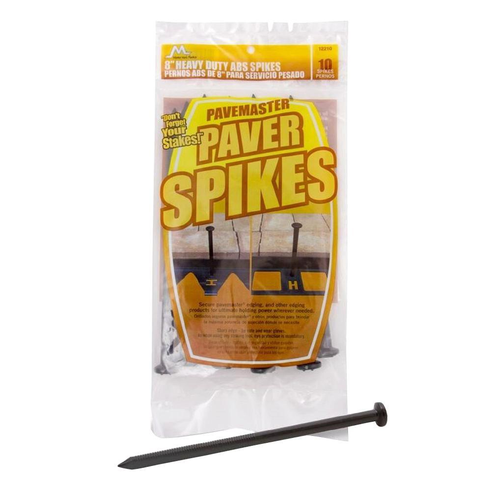 8 in. ABS Paver Spikes (10-Pack)