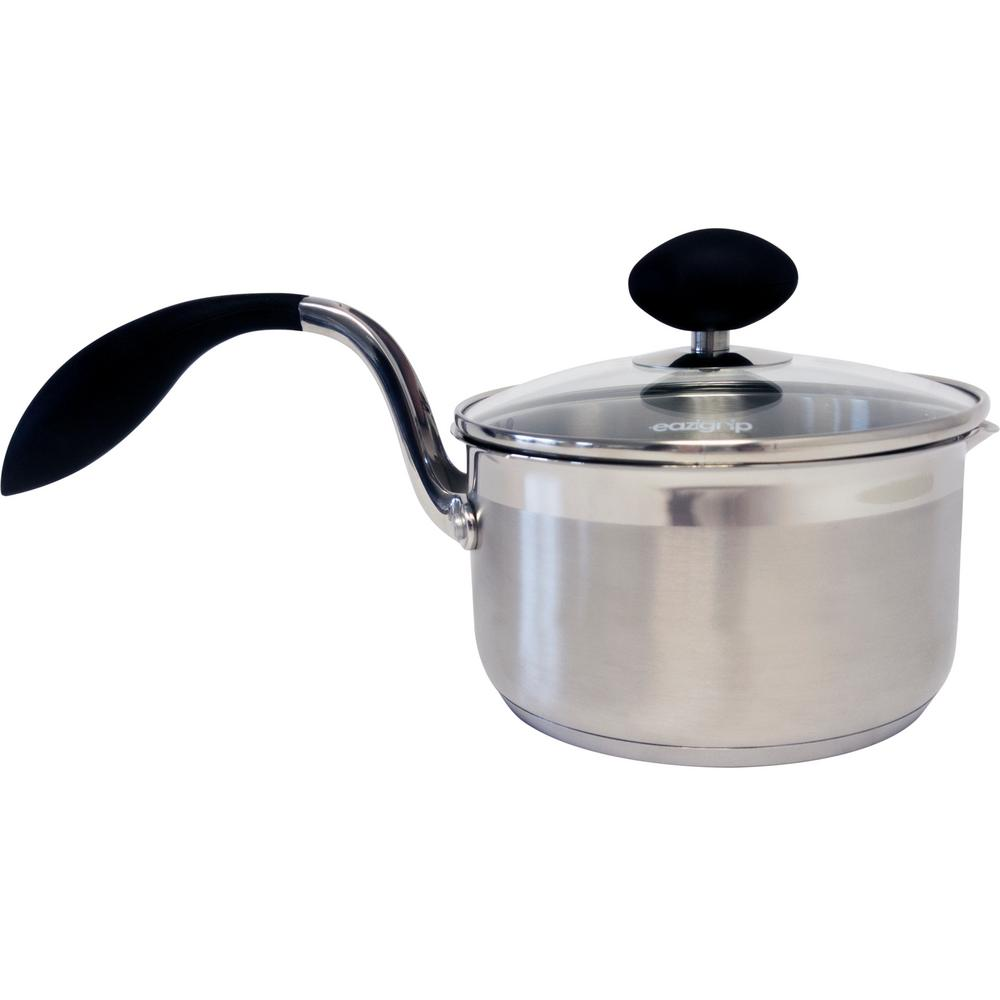 Household Essentials Eazigrip 1.5 Qt. Sauce Pan with Lid