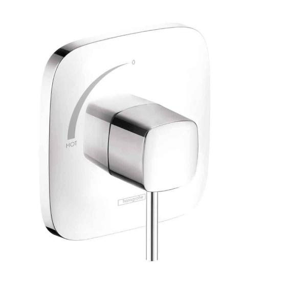 Hansgrohe PuraVida Single Handle Pressure Balance Trim in Chrome