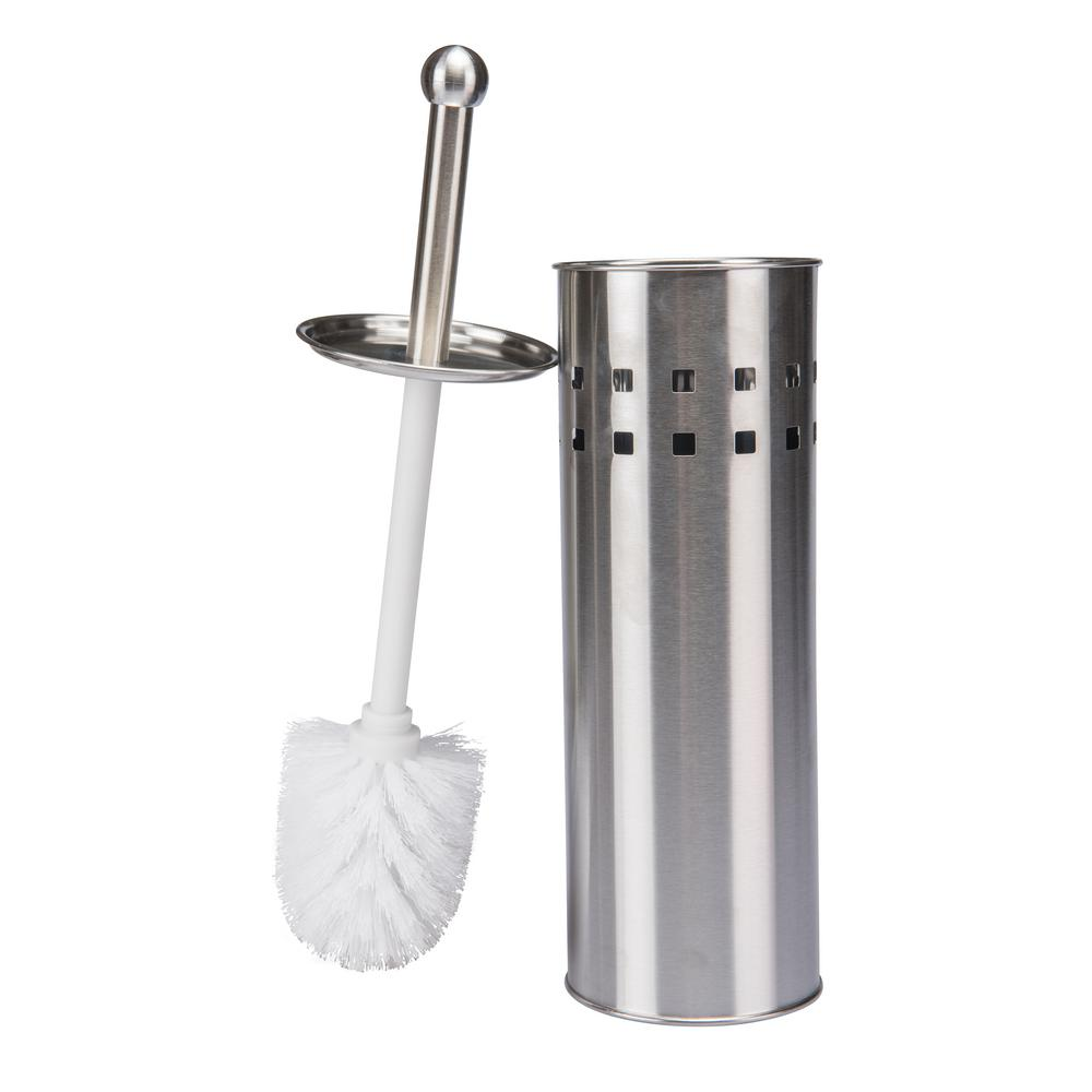 Stainless Steel Toilet Brush with Air Vents-Promo