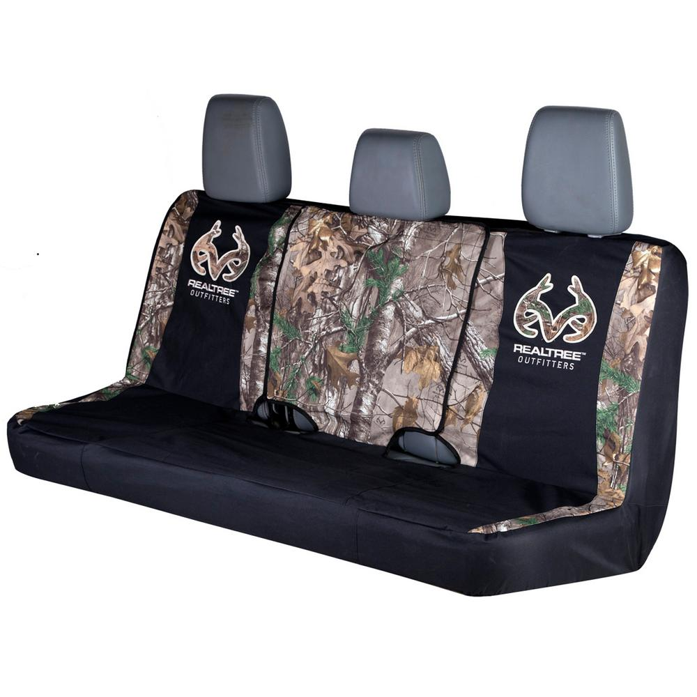 Realtree Bench Seat Cover Xtra