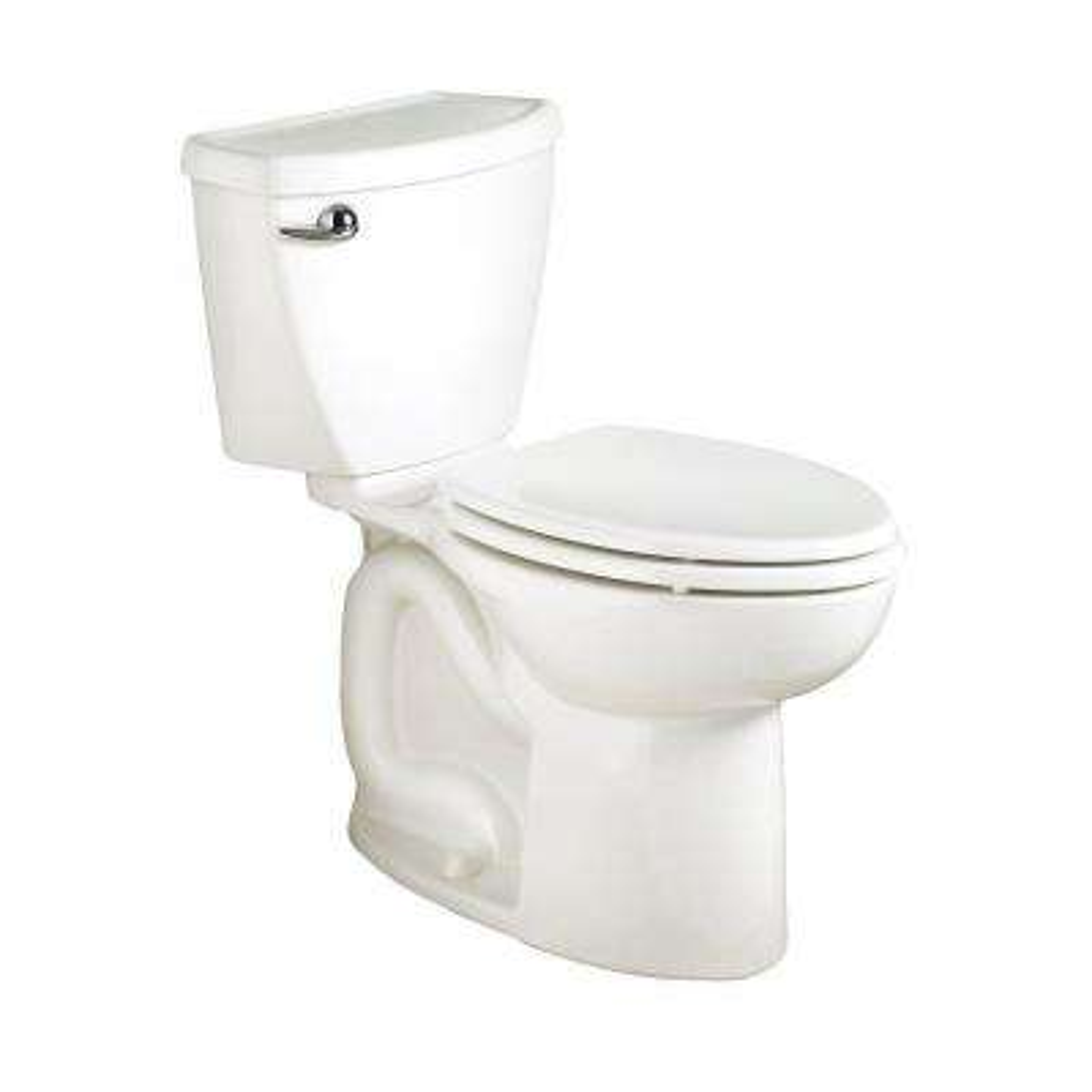 Cadet 3 Powerwash Right Height 2-piece 1.6 GPF Elongated Toilet in White