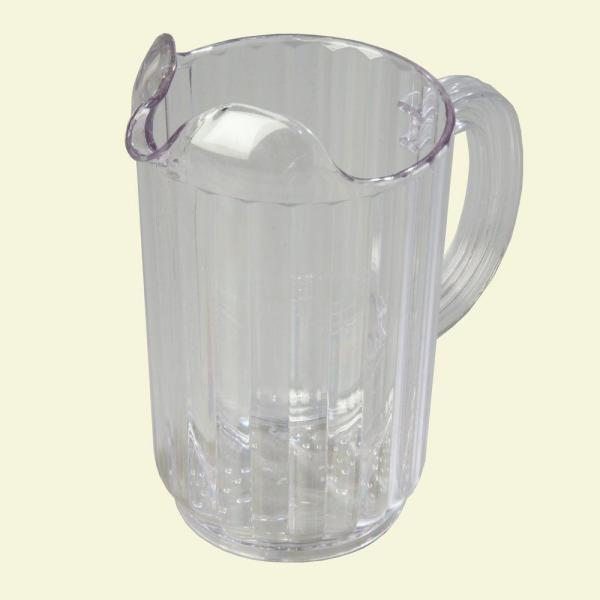 Carlisle 32 oz., 7.12 in. High Polycarbonate Clear Pitcher (Case of