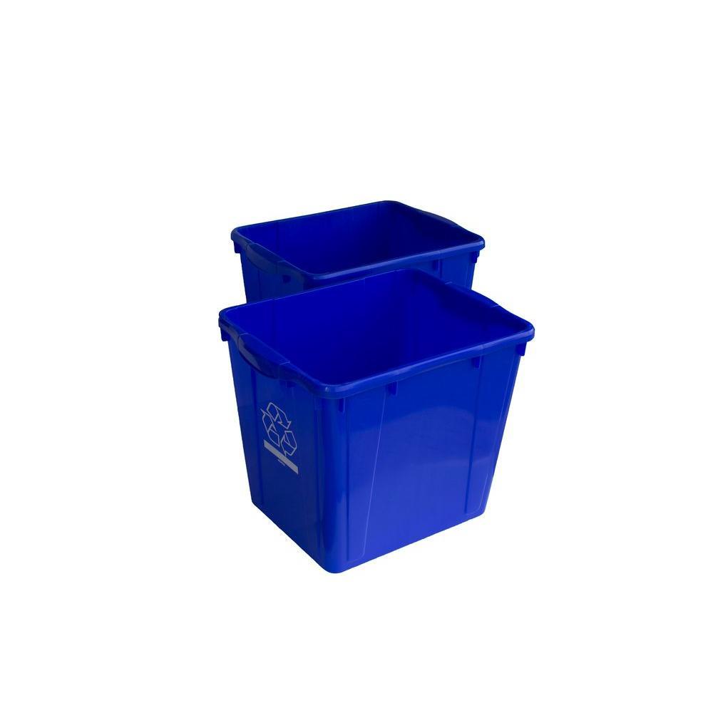 15 Gal. Recycling Box (2-Pack)