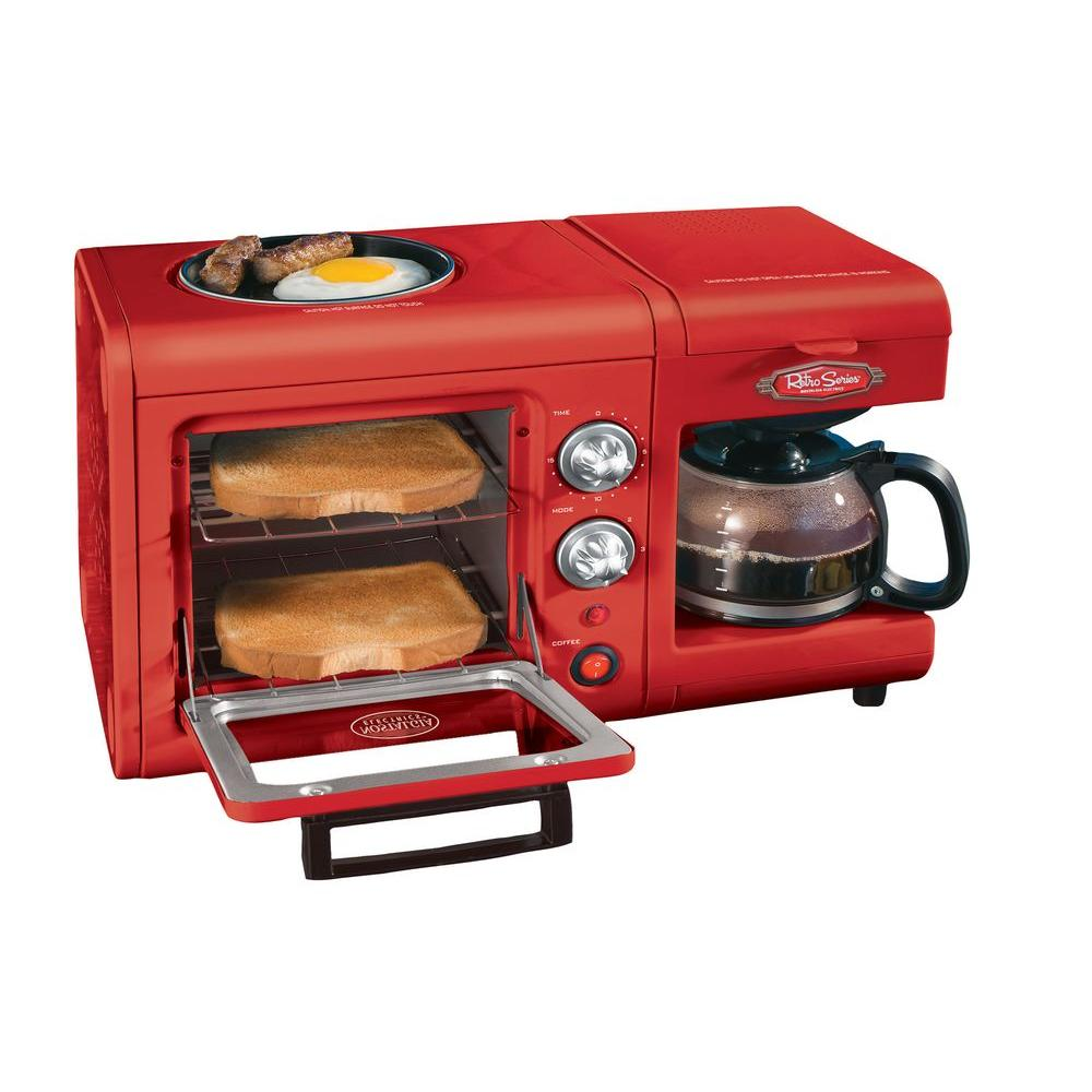 Nostalgia Electrics 3-in-1 Breakfast Station-DISCONTINUED