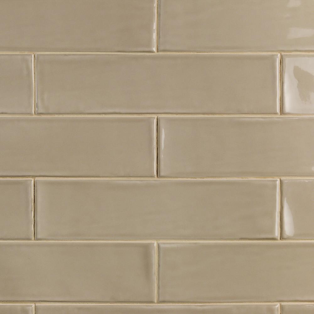 Beige Backsplash Subway Tile