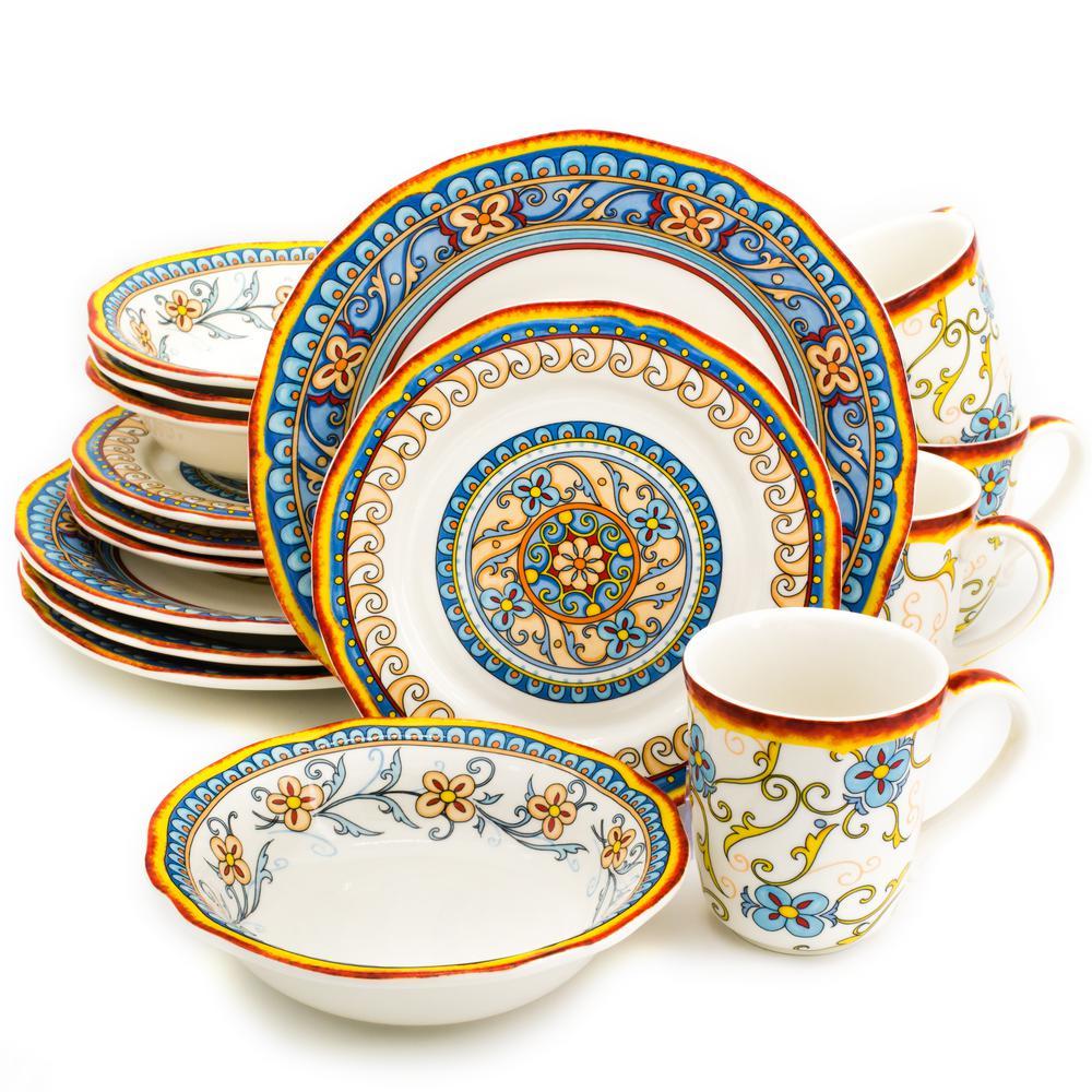 Duomo 16-Piece Dinnerware Set