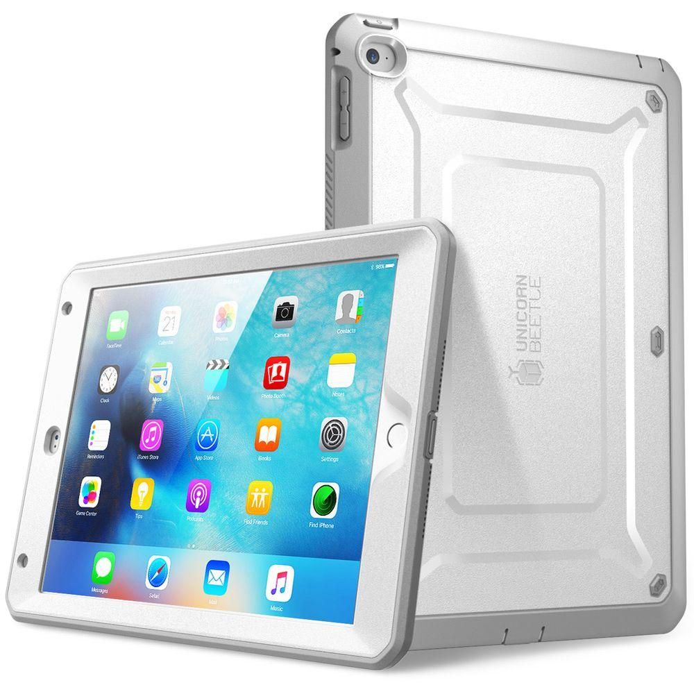 new styles de1e1 b6773 SUPCASE Unicorn Beetle Pro Full Body Case for Apple iPad Mini 4, White