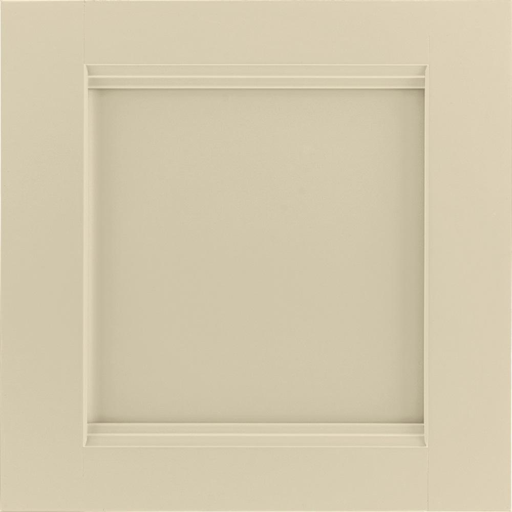 14-9/16x14-1/2 in. Cabinet Door Sample in Del Ray Painted Cashmere