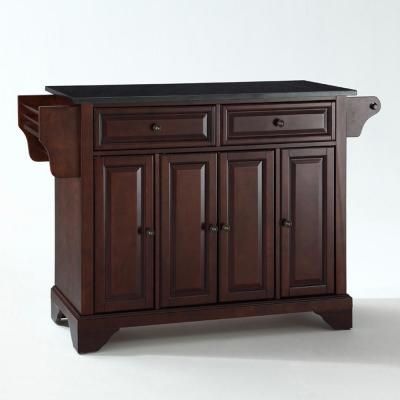 Lafayette Mahogany Kitchen Island with Granite Top