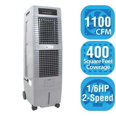 1,100 CFM 2-Speed Portable Evaporative Cooler for 400 sq. ft