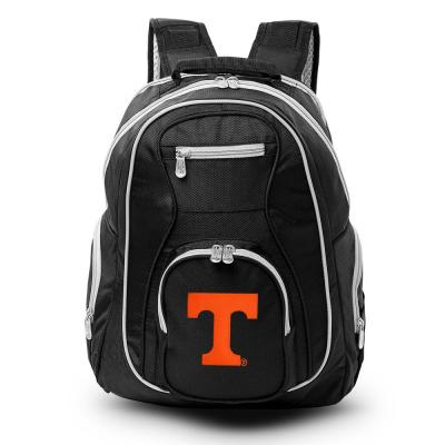 NCAA Tennessee Vols 19 in. Black Trim Color Laptop Backpack