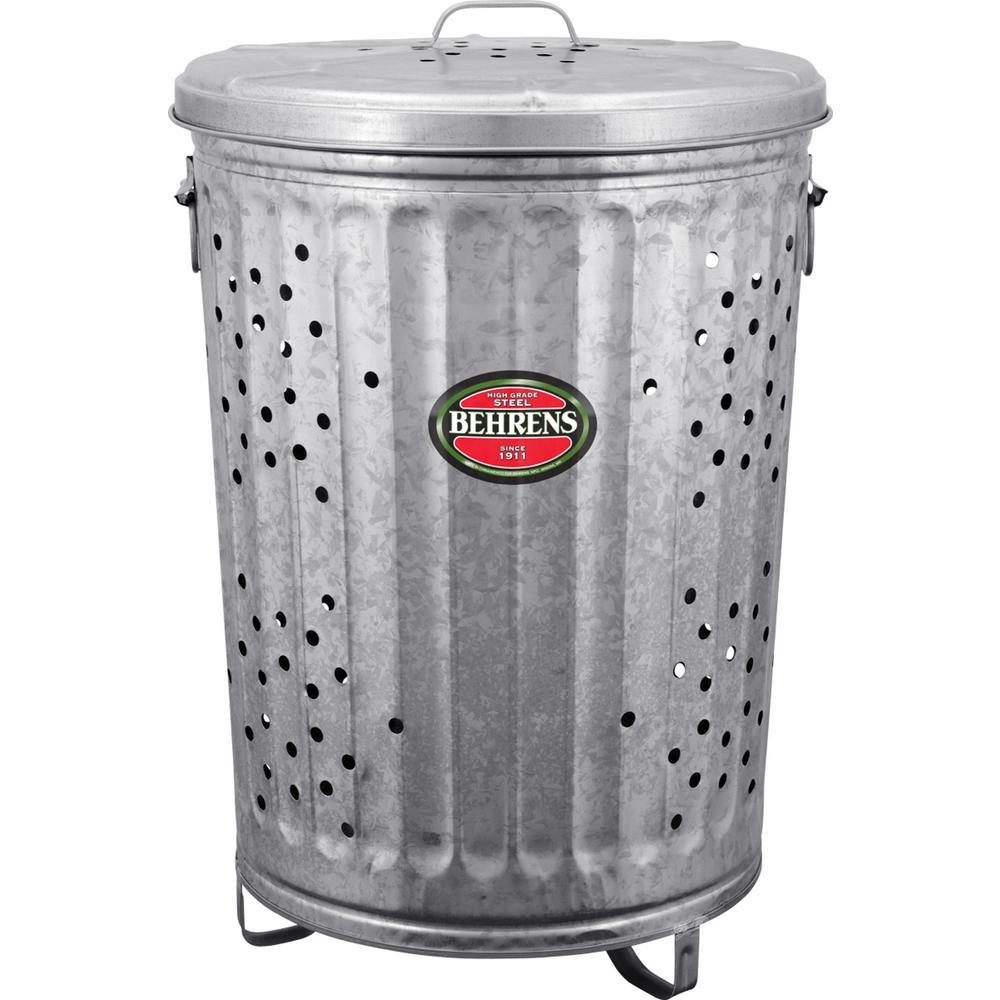 Behrens 20 Gal. Galvanized Steel Rubbish Burner/Composter