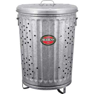 20 Gal. Galvanized Steel Rubbish Burner/Composter