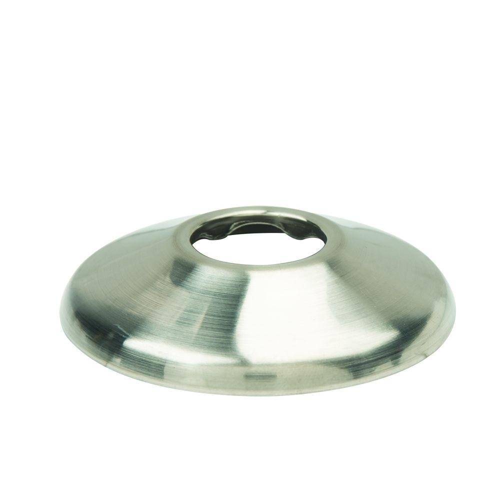 1/2 in. IPS Shallow Escutcheon in Satin Nickel