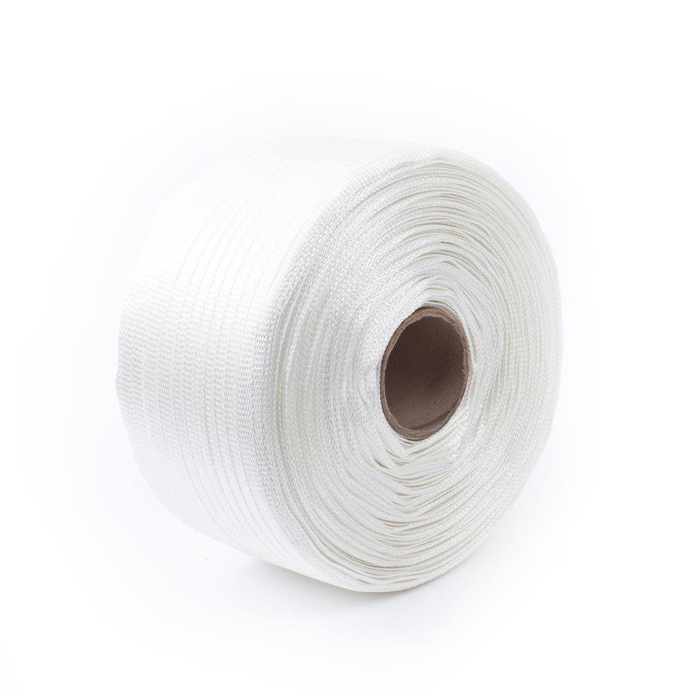 Pratt Retail Specialties 3000 ft. x 5/8 in. 800 lb. Polyester Bonded Cord Hand Strapping, White