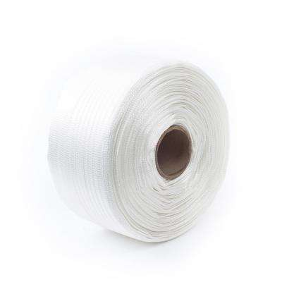 3000 ft. x 5/8 in. 800 lb. Polyester Bonded Cord Hand Strapping, White