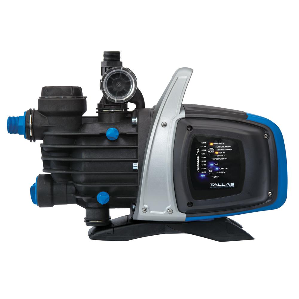 TALLAS TALLAS 3/4 HP 115-Volt Electronically Controlled Shallow Well Jet Pump