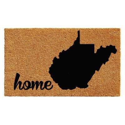 West Virginia Door Mat 18 in. x 30 in.
