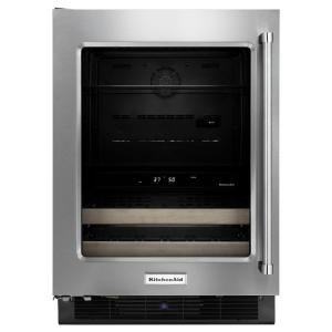 Click here to buy KitchenAid 24 inch W 14-Bottle Wine Cooler by KitchenAid.