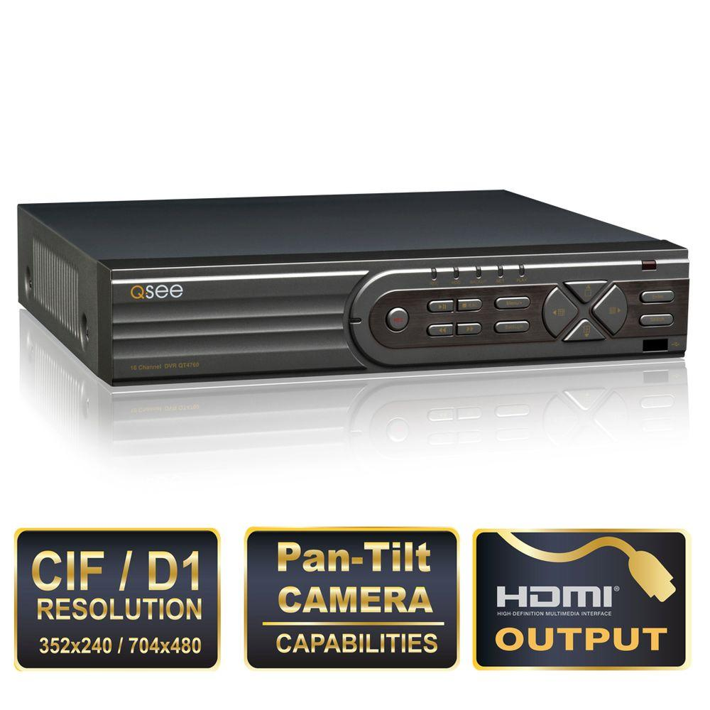 Q-SEE Advanced Series 16-Channel CIF/D1 DVR with 1TB Hard Drive and HDMI Port-DISCONTINUED