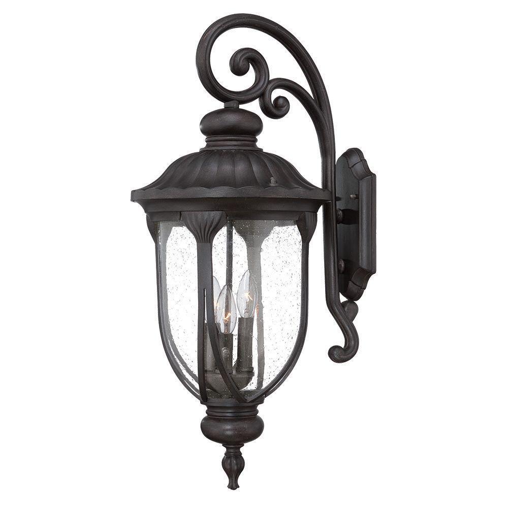 Acclaim Lighting Laurens Collection 3-Light Black Coral O...