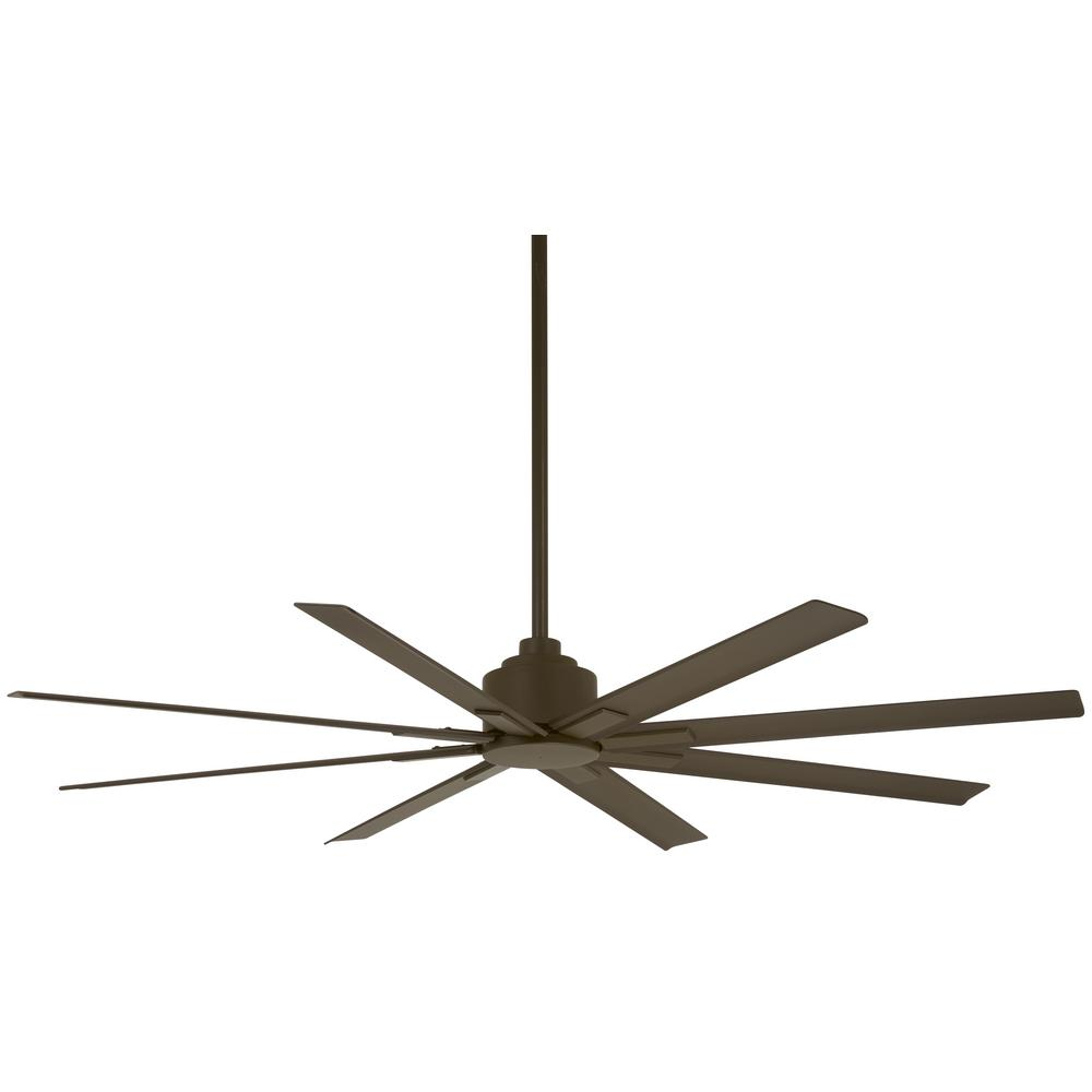 Minka-Aire Xtreme H2O 65 in. Indoor/Outdoor Oil Rubbed Bronze Ceiling Fan with Remote Control