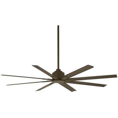 Xtreme H2O 65 in. Indoor/Outdoor Oil Rubbed Bronze Ceiling Fan with Remote Control