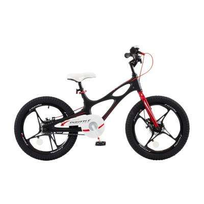 18 in. Magnesium Space Shuttle Kid's Bike in Black