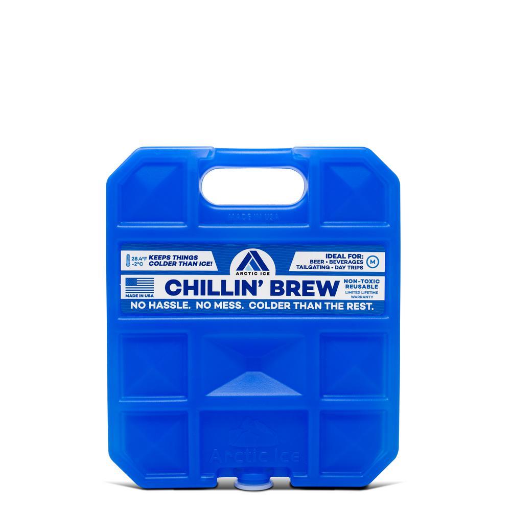 Chillin' Brew Medium Cooler Pack (Plus 28.3-Degree F)