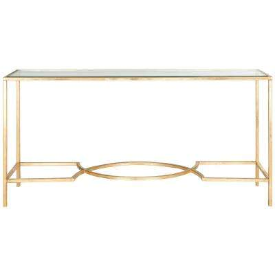 d8e11fe33f8f3 Safavieh - Gold - Accent Tables - Living Room Furniture - The Home Depot