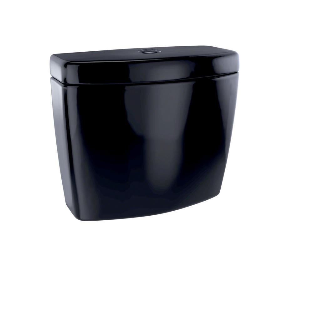 Aquia II 0.9/1.6 GPF Dual Flush Toilet Tank Only in Ebony