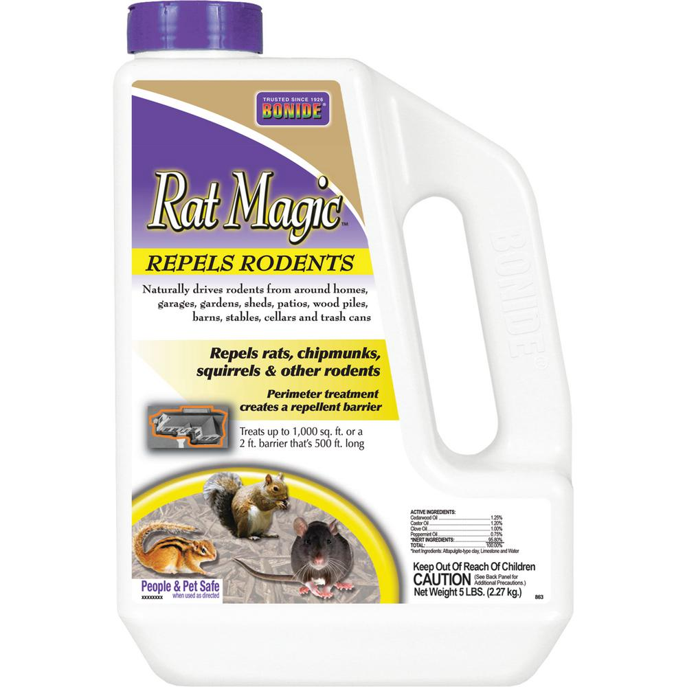 5 lbs. Rat Magic Rodent Repellent Granules