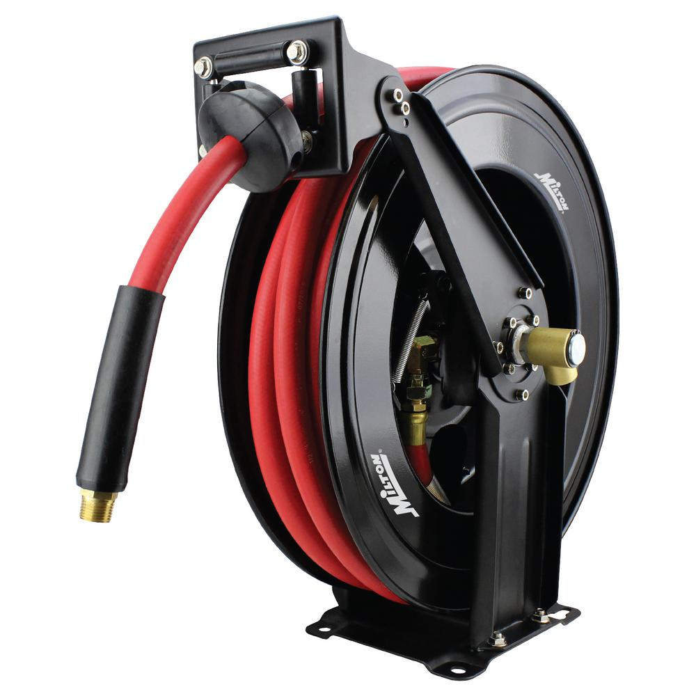 1/2 in. Auto Retracting Air Hose Reel